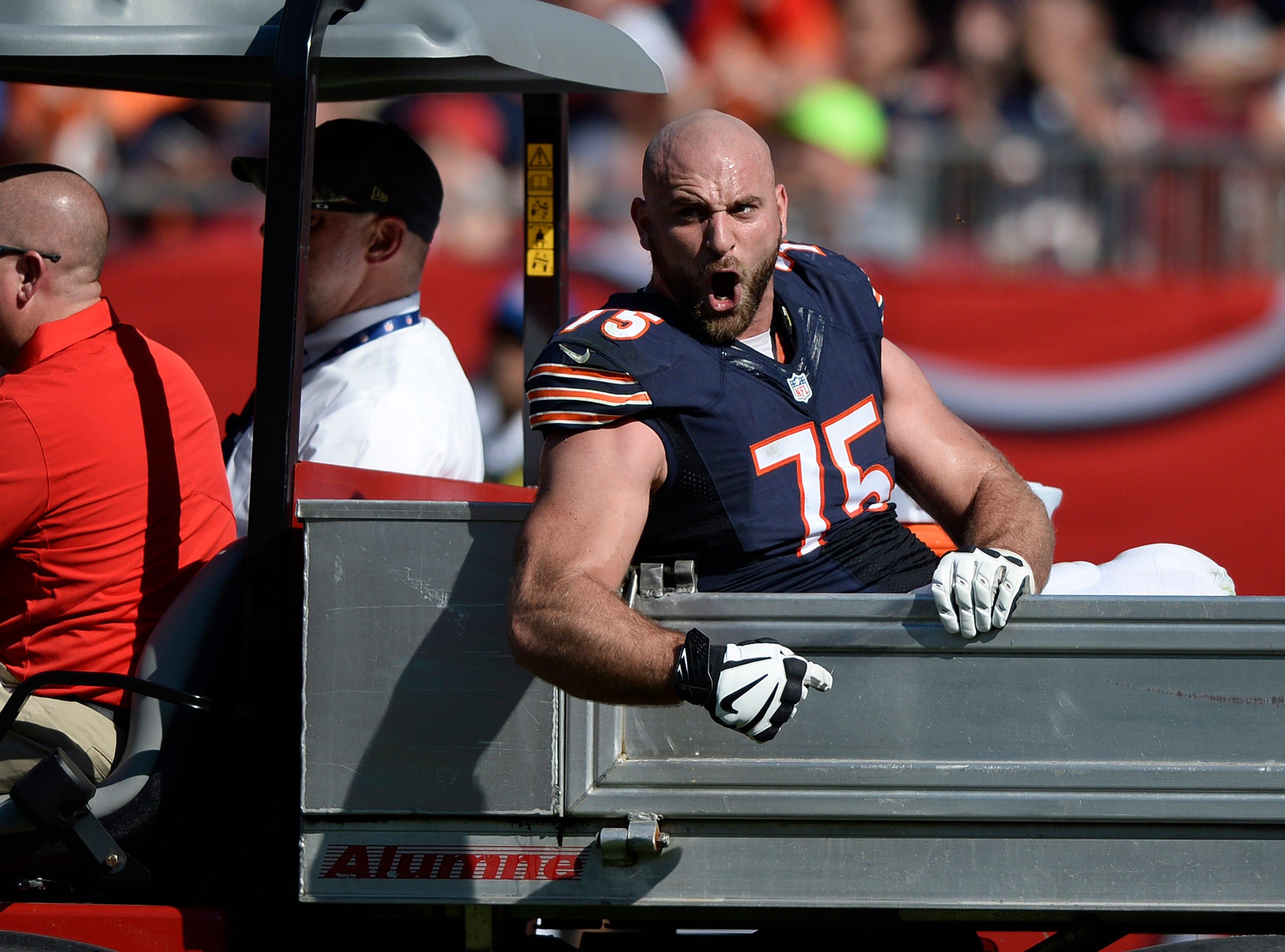 Injuries behind him, Bears' Long feels rejuvenated, older