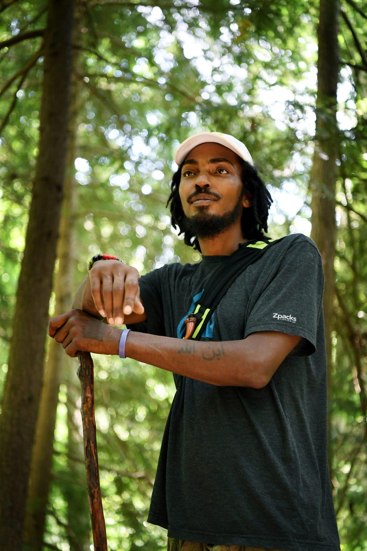 Appalachian Trail thru-hiker the Blackalachian returns home to Asheville
