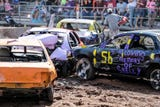 The fan favorite demolition derby took place at the Fond du Lac County fair Sunday, July 22, 2018.