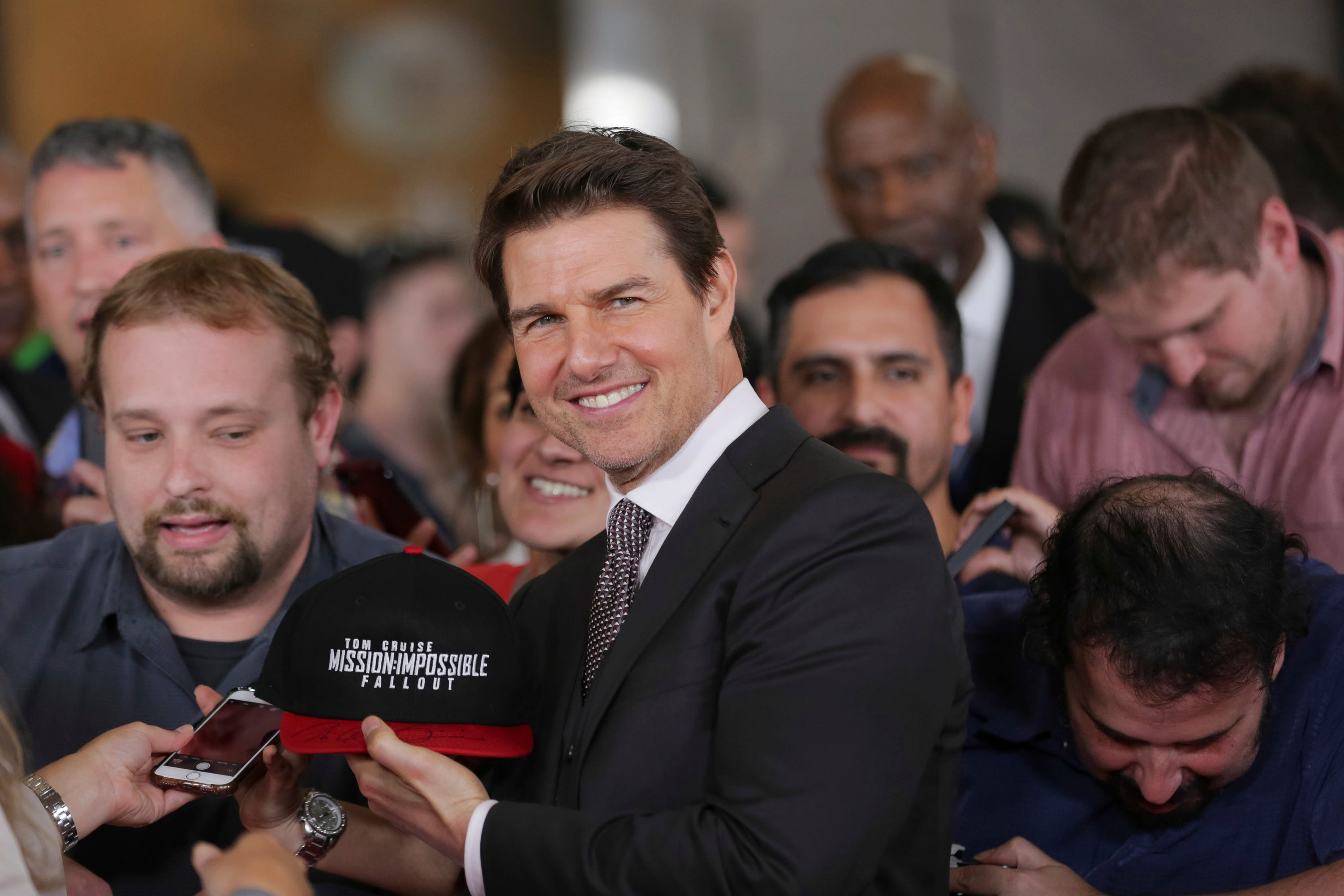 'Mission: Impossible - Fallout' premiere: Cast discusses stunts from sixth  installment