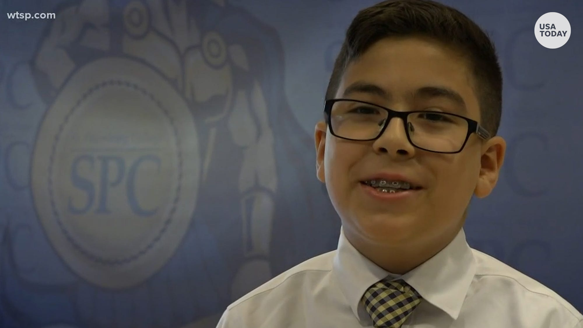 Boy, 11, graduates from college and still plans to continue education