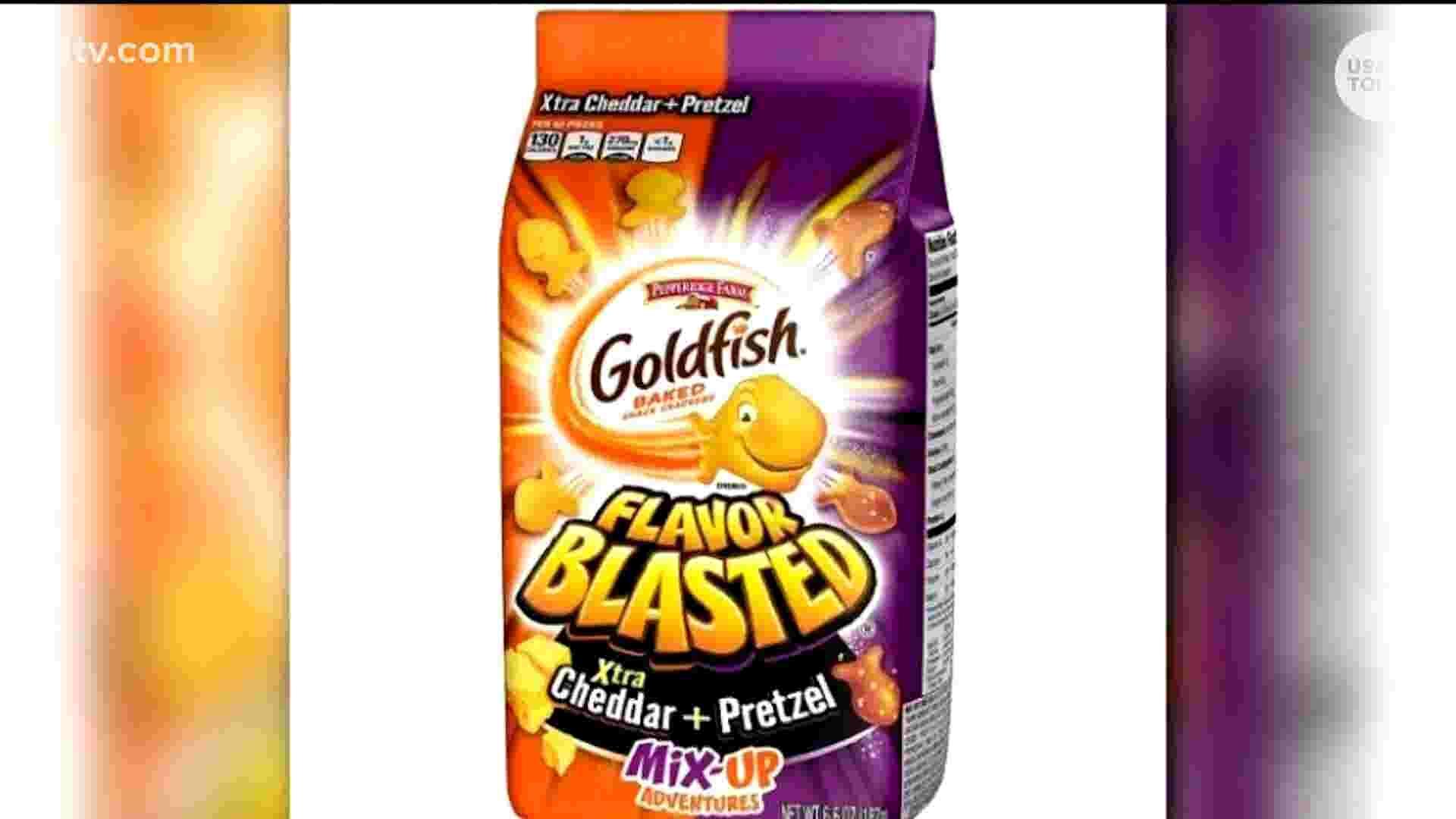 Goldfish Crackers recalled for salmonella
