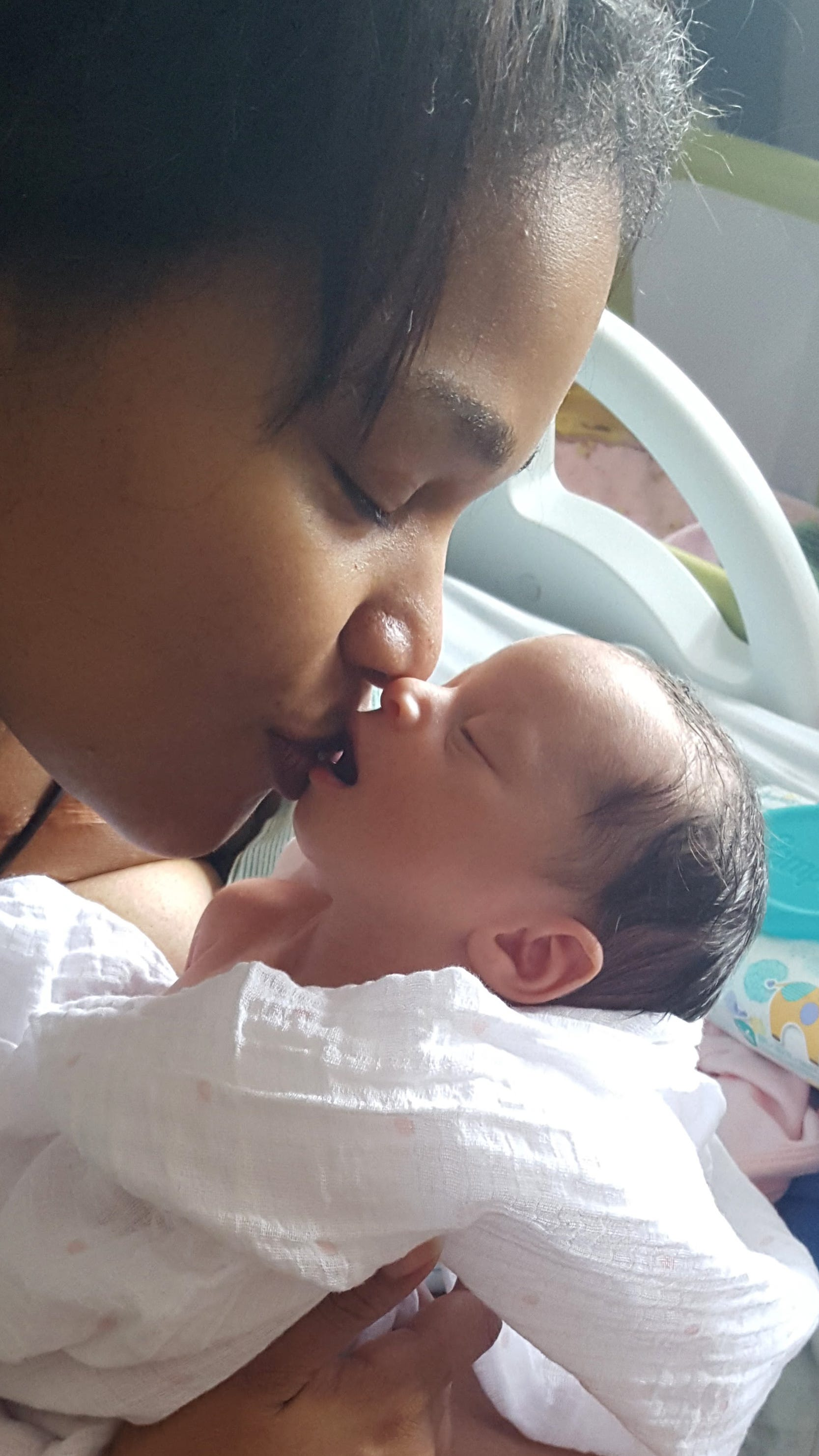 ZaKiya Bell-Rogers of Asheville, North Carolina, needed an emergency hysterectomy to stop the bleeding after she gave birth in 2015.