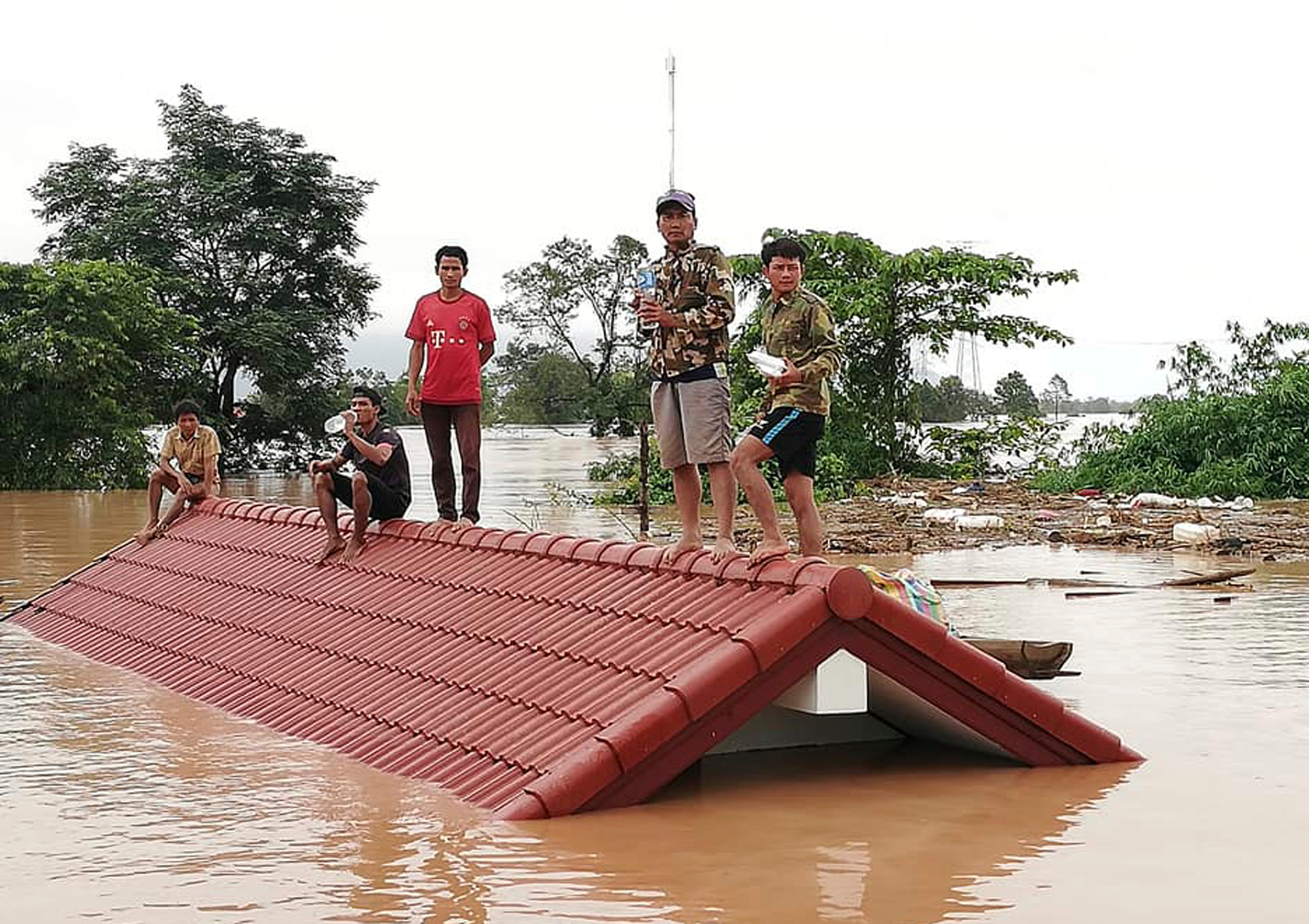 Hundreds still missing after Laos dam breach