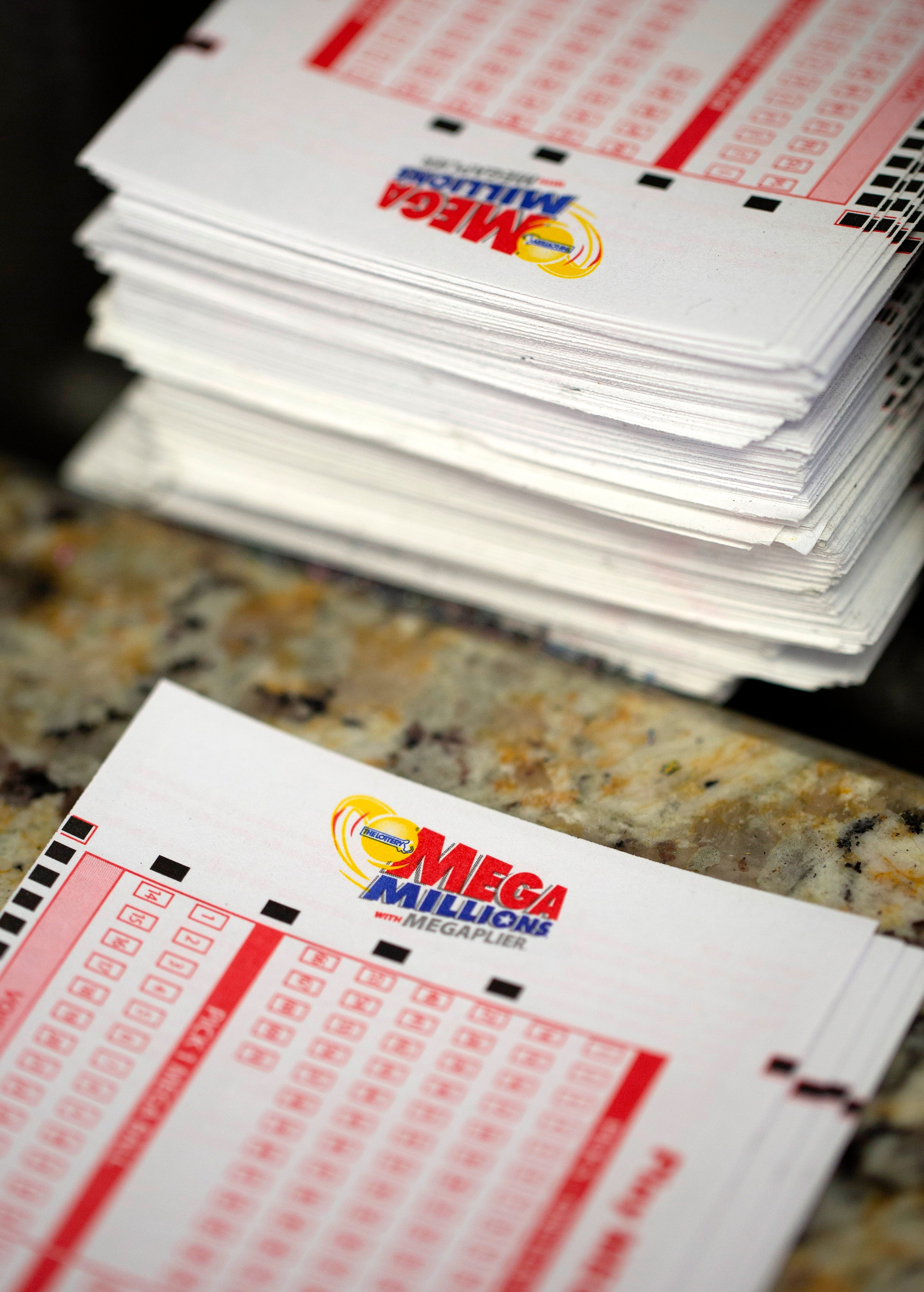 Someone in California just got Mega Millions rich