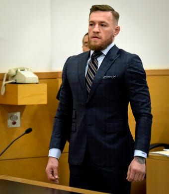 Conor McGregor pleaded guilty to disorderly conduct, avoiding jail time, for his role in the UFC 223 media day fracas at Barclays Center in Brooklyn, NY.