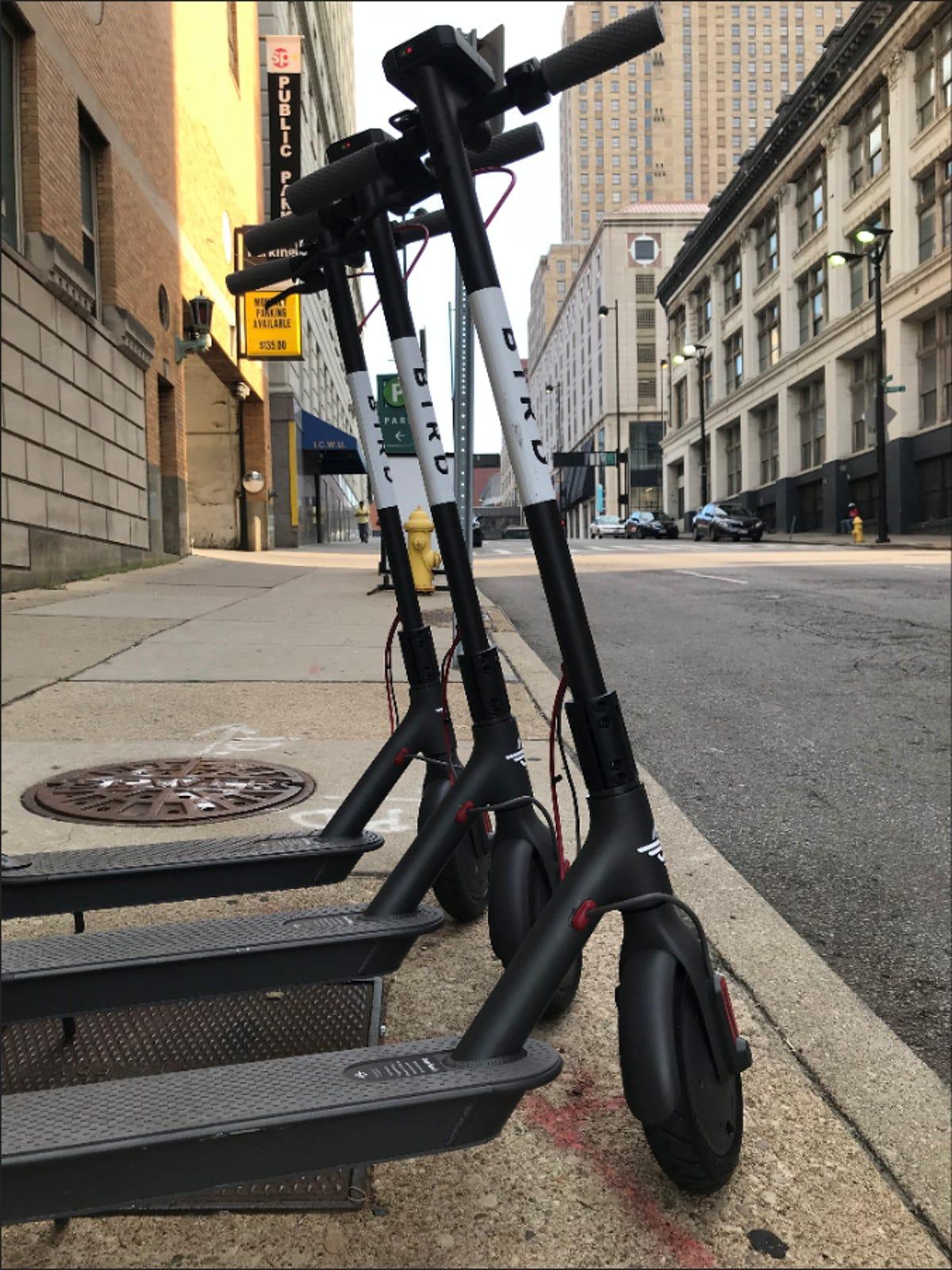 Bird scooters: How do Bird scooters work?