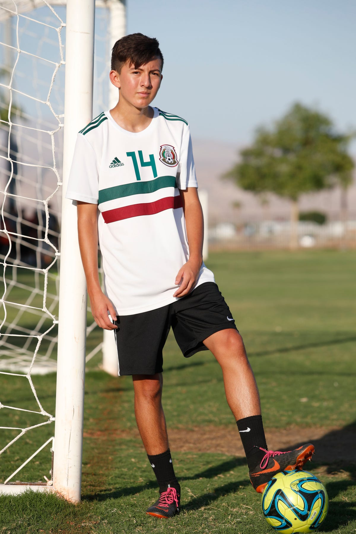 Desert teen earns spot at prestigious Barca Academy for soccer
