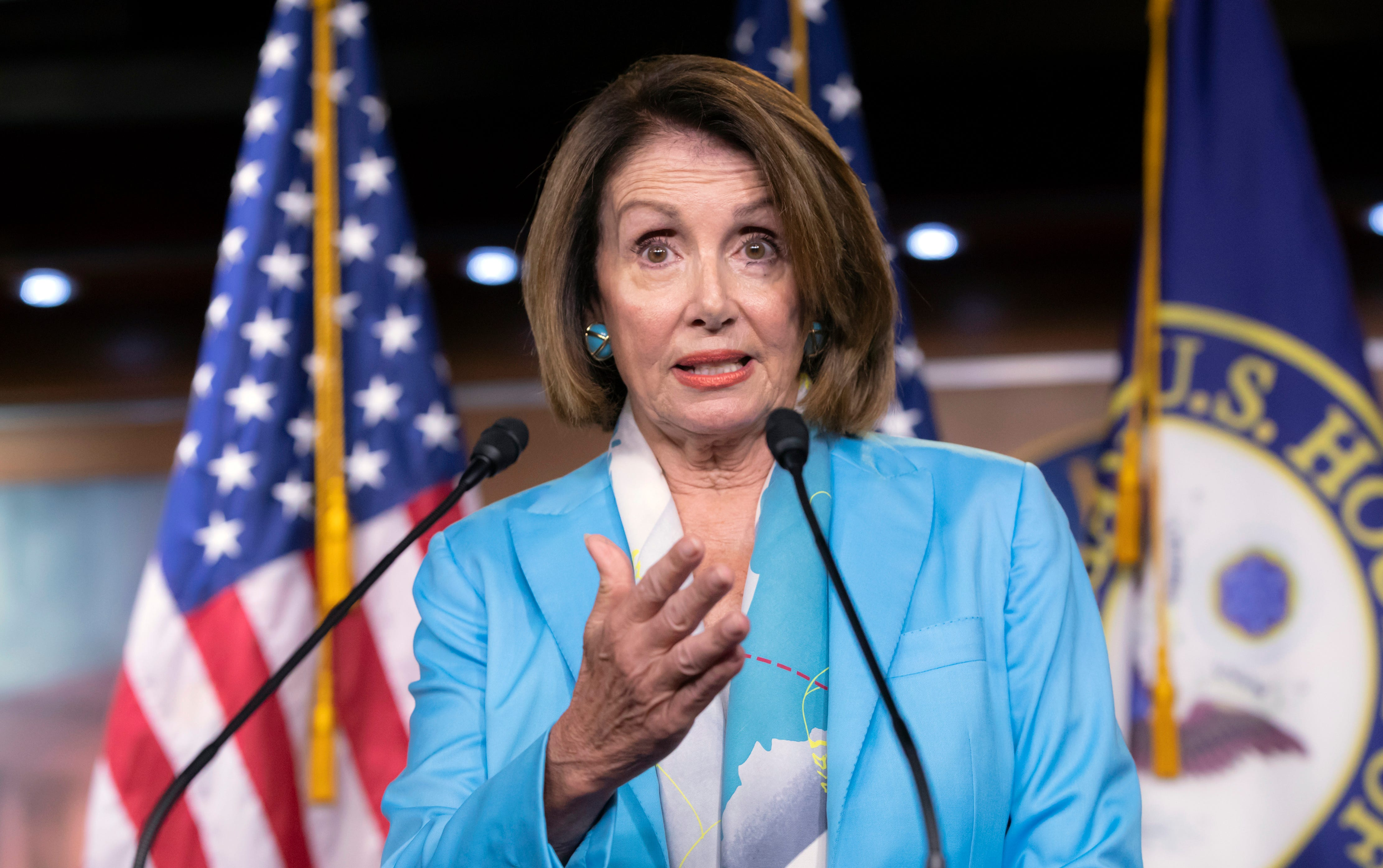 Nancy Pelosi wants to be House speaker again. Can she overcome opposition in her own party?
