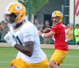 Ryan Wood and Aaron Nagler give their initial thoughts from an overcast Ray Nitschke Field after Thursday's practice.