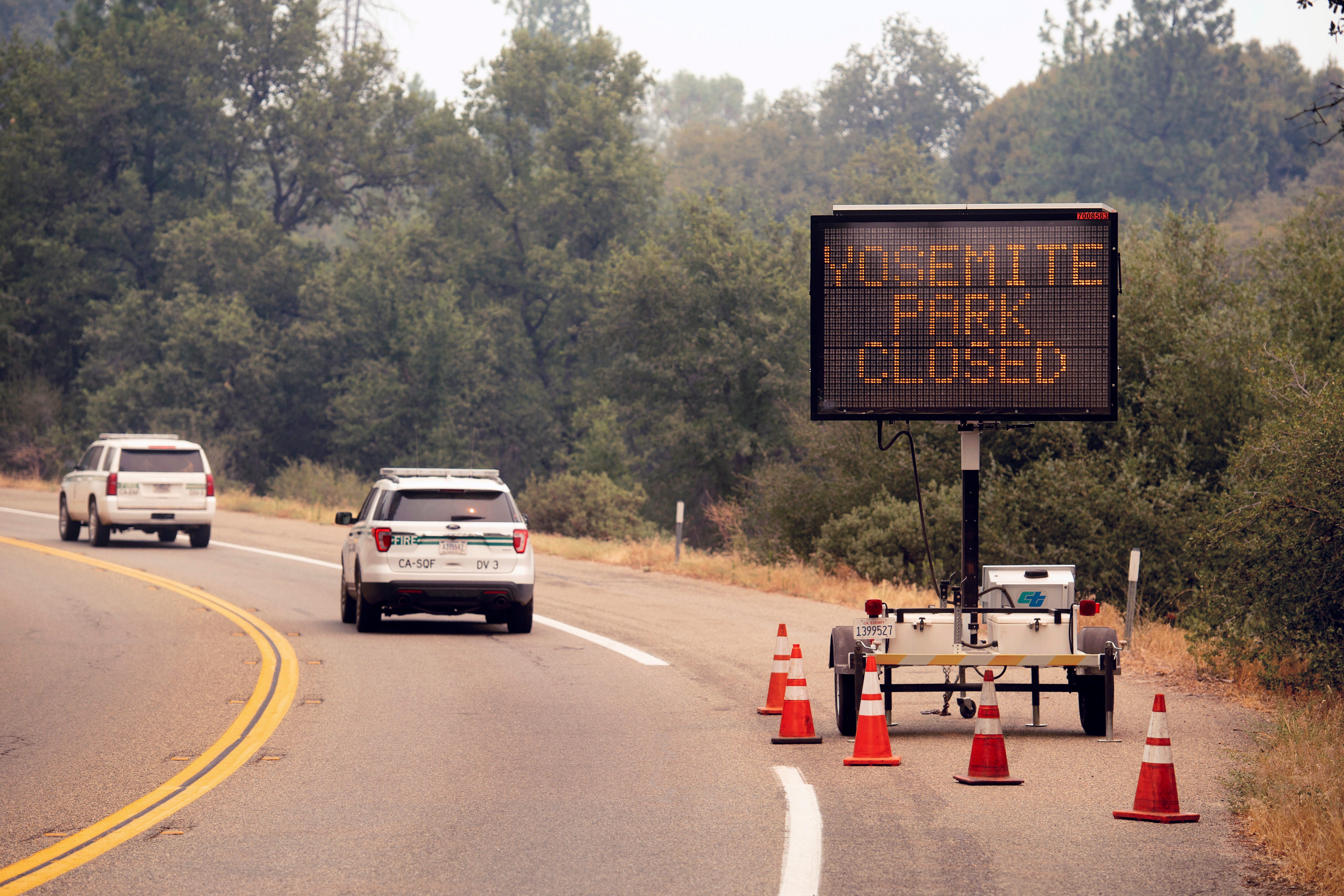 After weeks of smoke and fire, Yosemite Valley reopening at Yosemite National Park