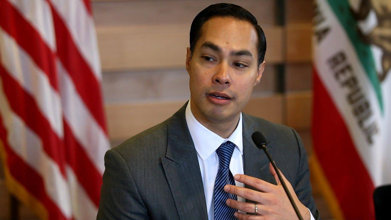 Julian Castro, a Texas Democrat and former Obama cabinet member, announces 2020 bid for president