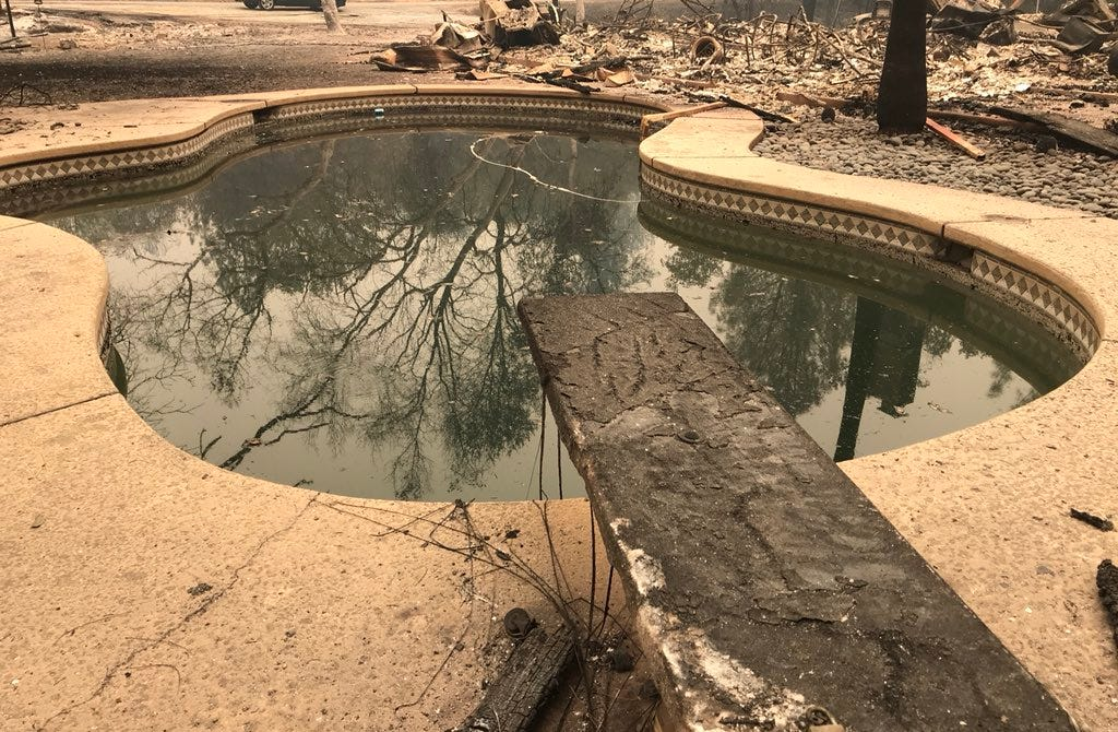Abandoned Swimming Pools After Carr Fire A Concern For Mosquito Districts