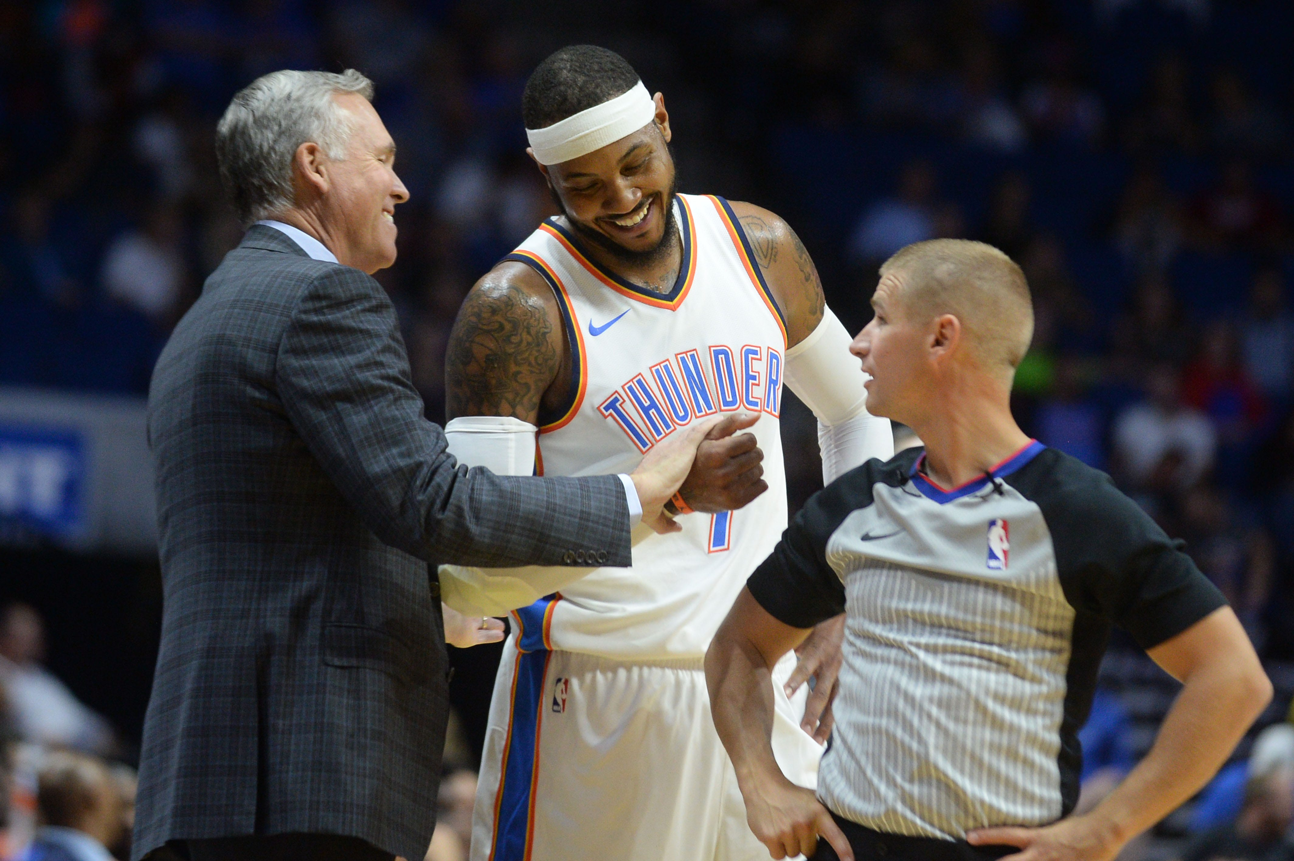 No hard feelings: Mike D'Antoni says Carmelo Anthony is 'a lot better fit' with Rockets