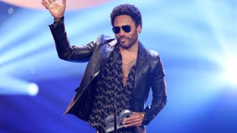 Lenny Kravitz talks about Aretha Franklin, who is in failing health.
