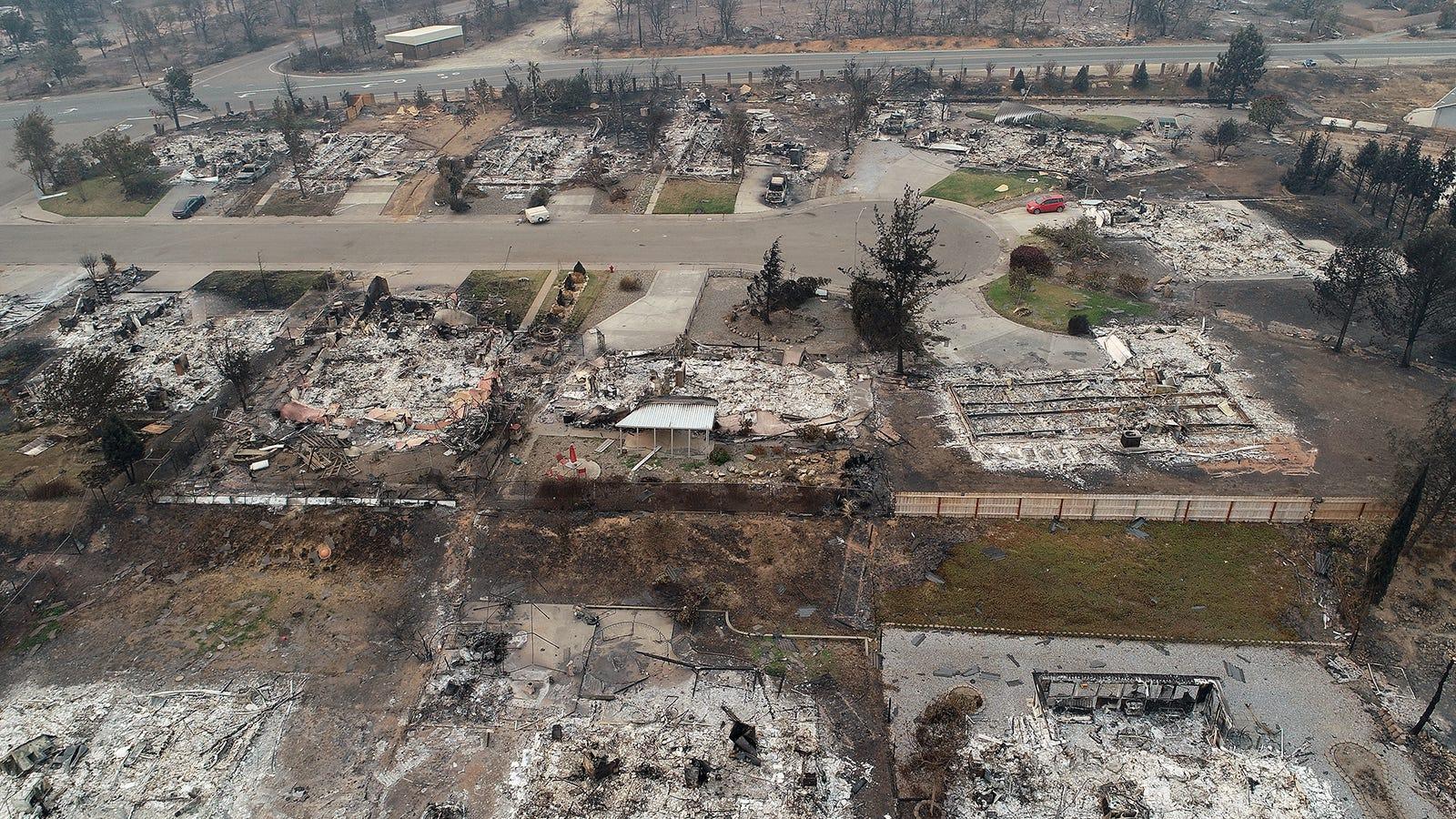 A view of the Lake Keswick Estates neighborhood on the northwest side of Redding, CA.