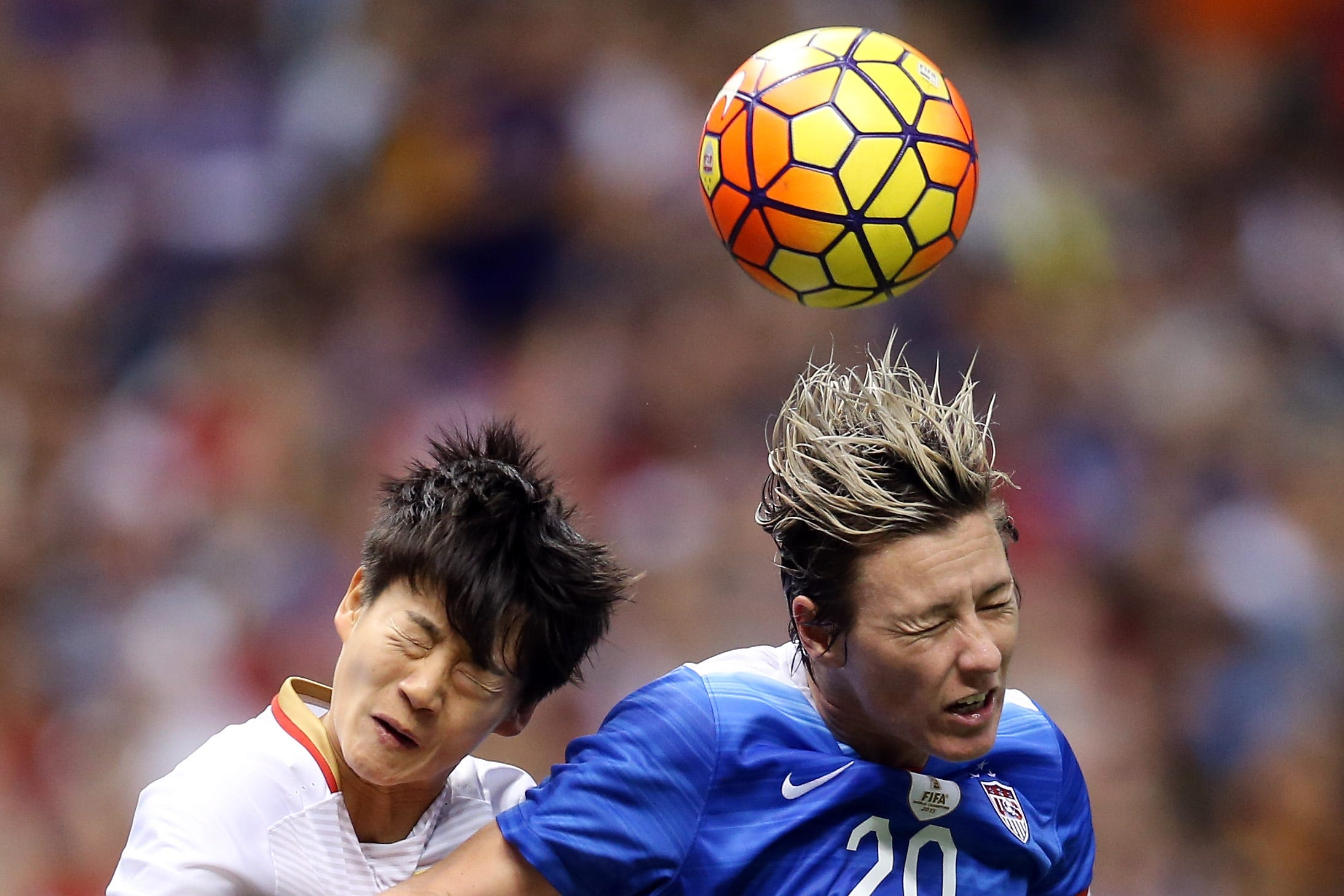Headers in soccer cause more brain damage in women than men, new study says