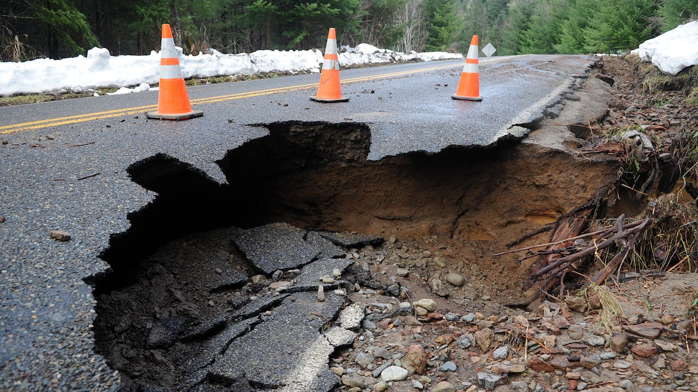 Infrastructure spending: Which state is falling apart the worst?