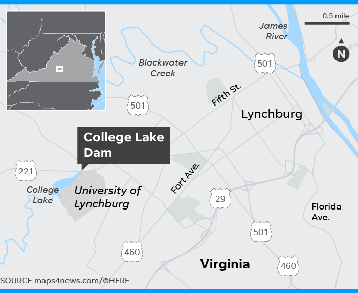 Lynchburg, Virginia dam: \'Confident the dam is stable and safe\'