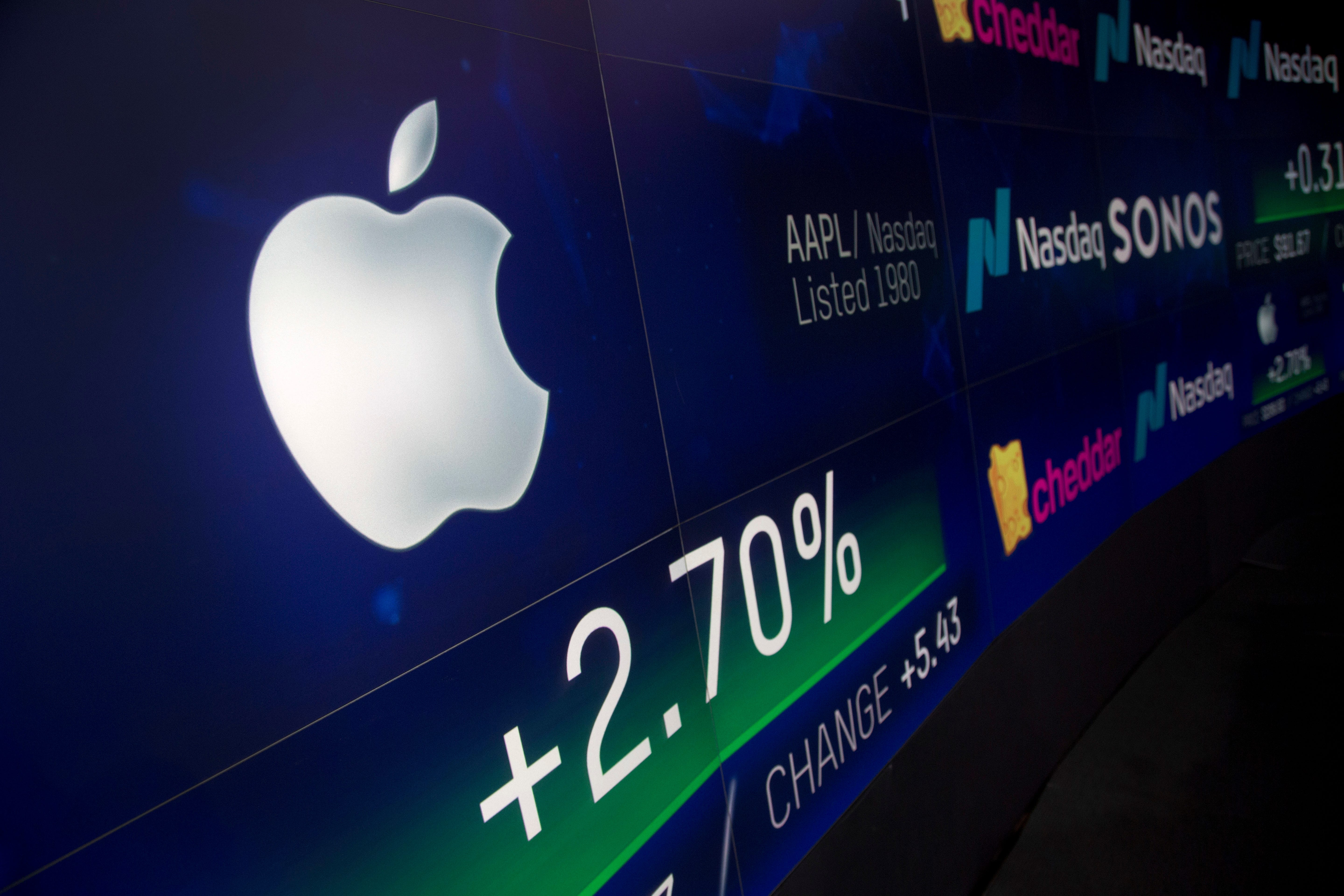 Who could join Apple in Wall Street's $1 trillion stock club?