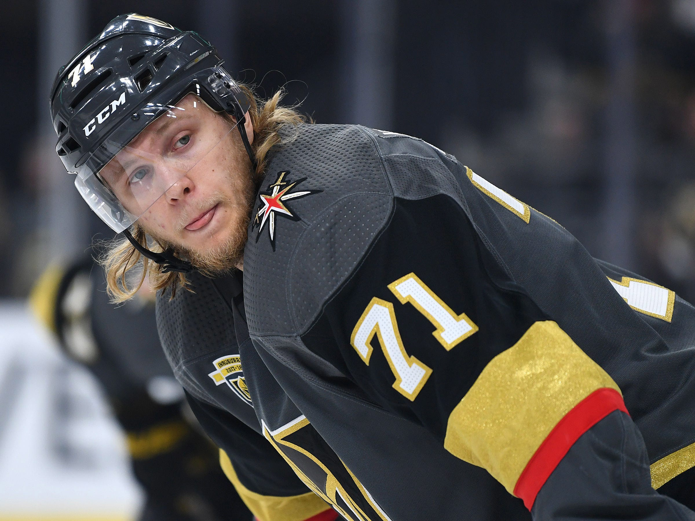 Golden Knights sign William Karlsson to one-year, $5.25M deal