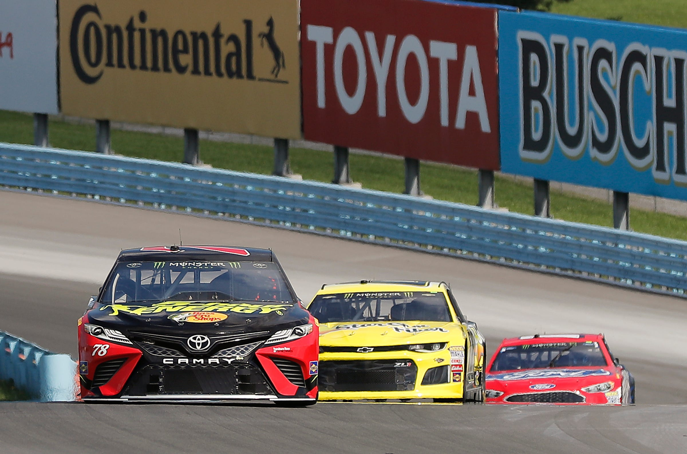 Truex chasing title as NASCAR's current king of the road