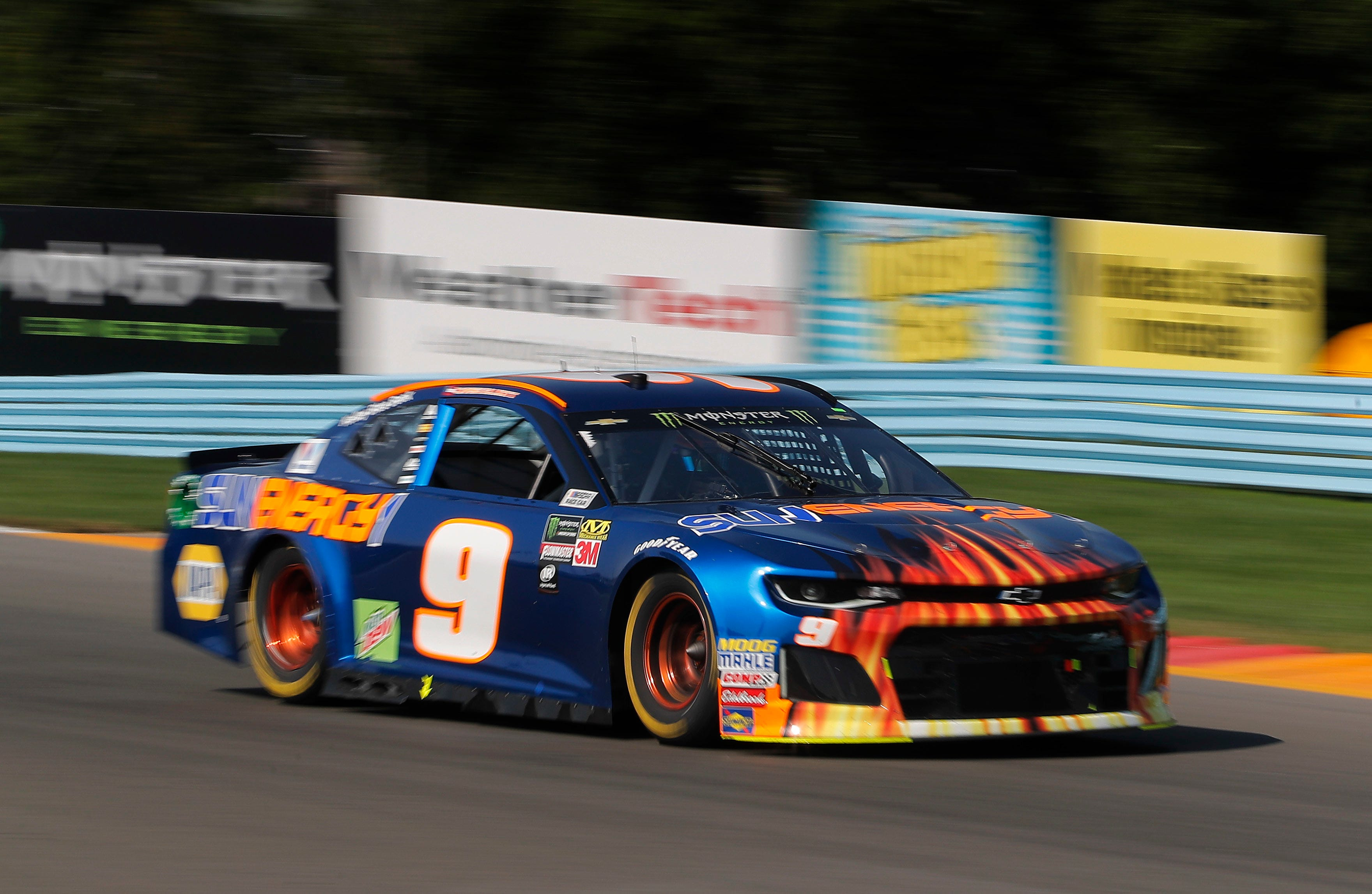 The Latest: Chase Elliott wins at Watkins Glen