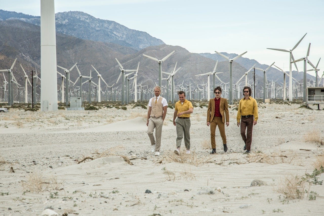 Top 10 most used film locations in Palm Springs