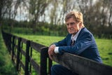 "Robert Redford stars as the leader of an aging bank-robbing crew and Casey Affleck is a pursuing cop in the crime comedy-drama ""Old Man & the Gun.'"