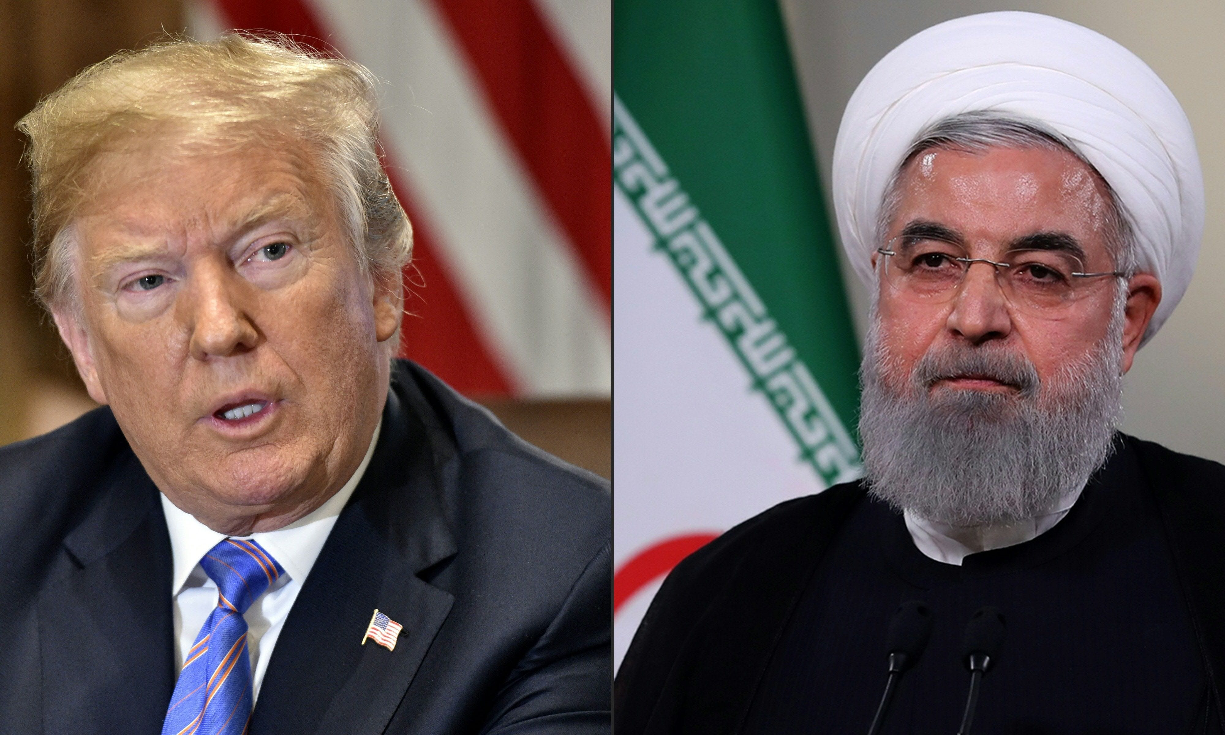 Trump says he's open to meeting Iranian leaders at September UN session