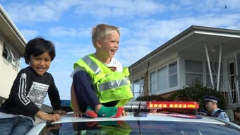 Five-year-old Zachary called New Zealand's emergency line to invite the police to his birthday party. What he didn't expect was them to actually come.