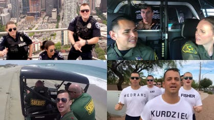 Lip sync challenge: Police battle best songs in this video