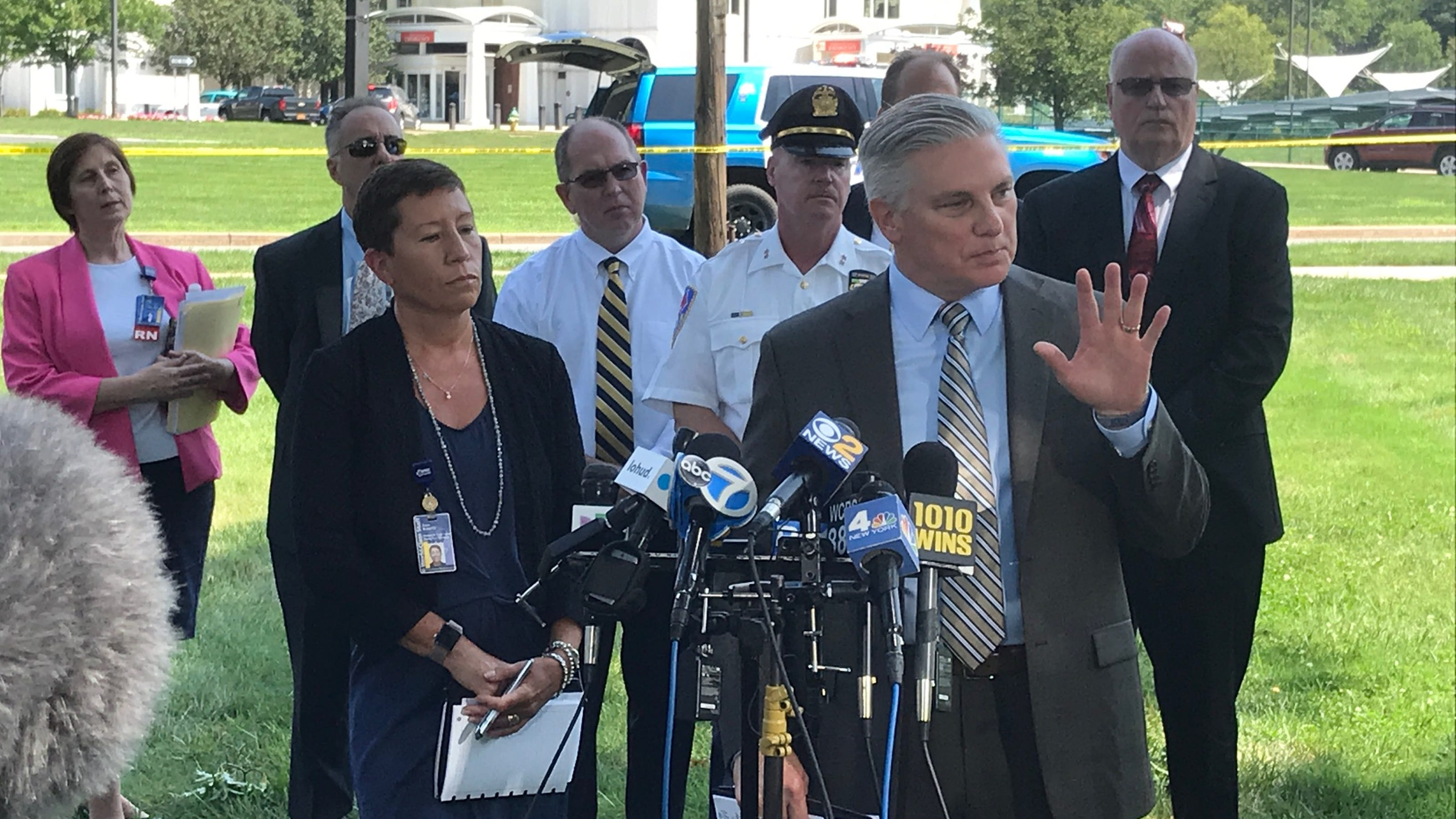 Video: Press conference: 2 dead in Westchester Medical Center shooting