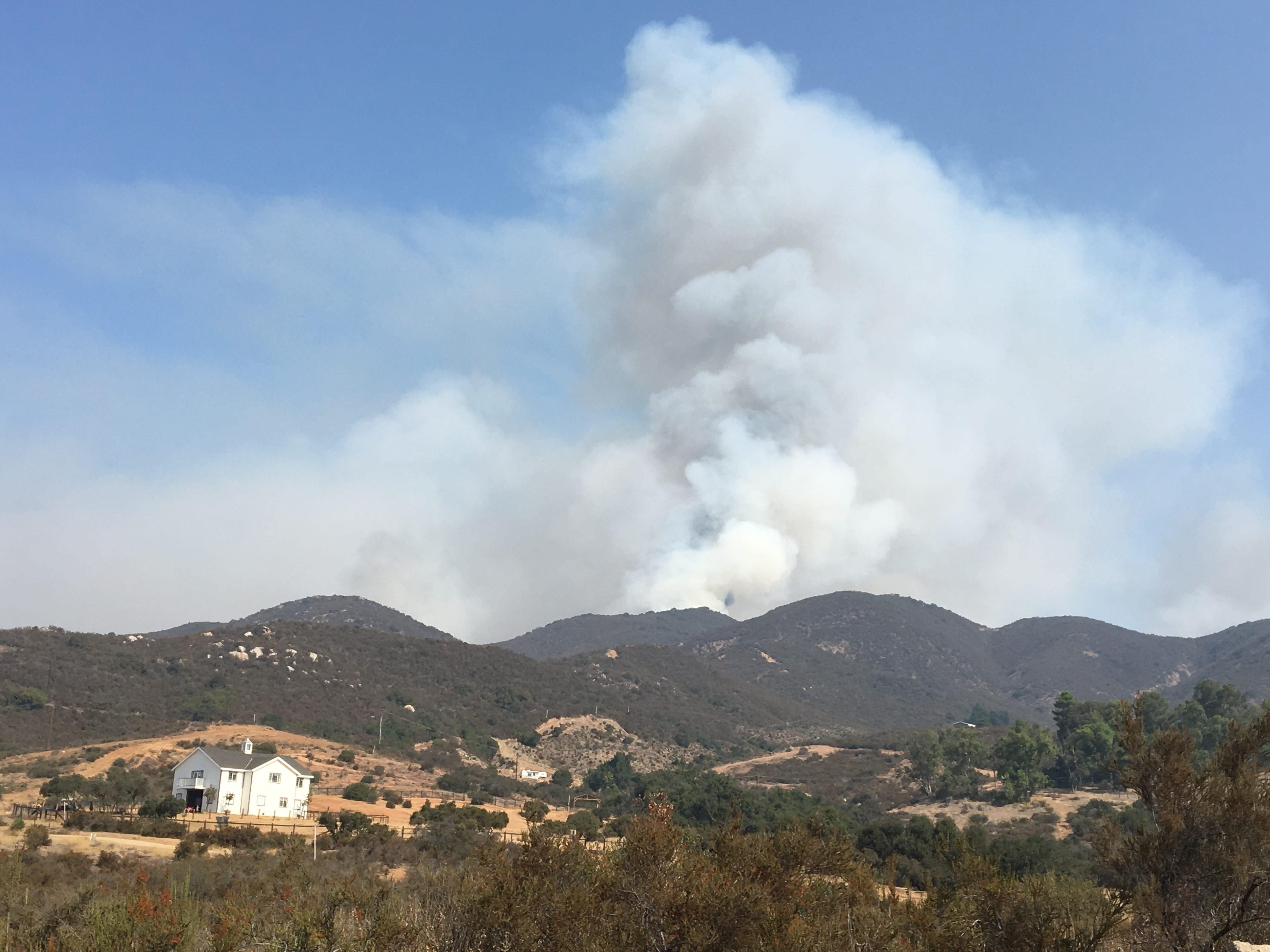 California wildfire: Holy Fire grows; arson suspect awaits arraignment