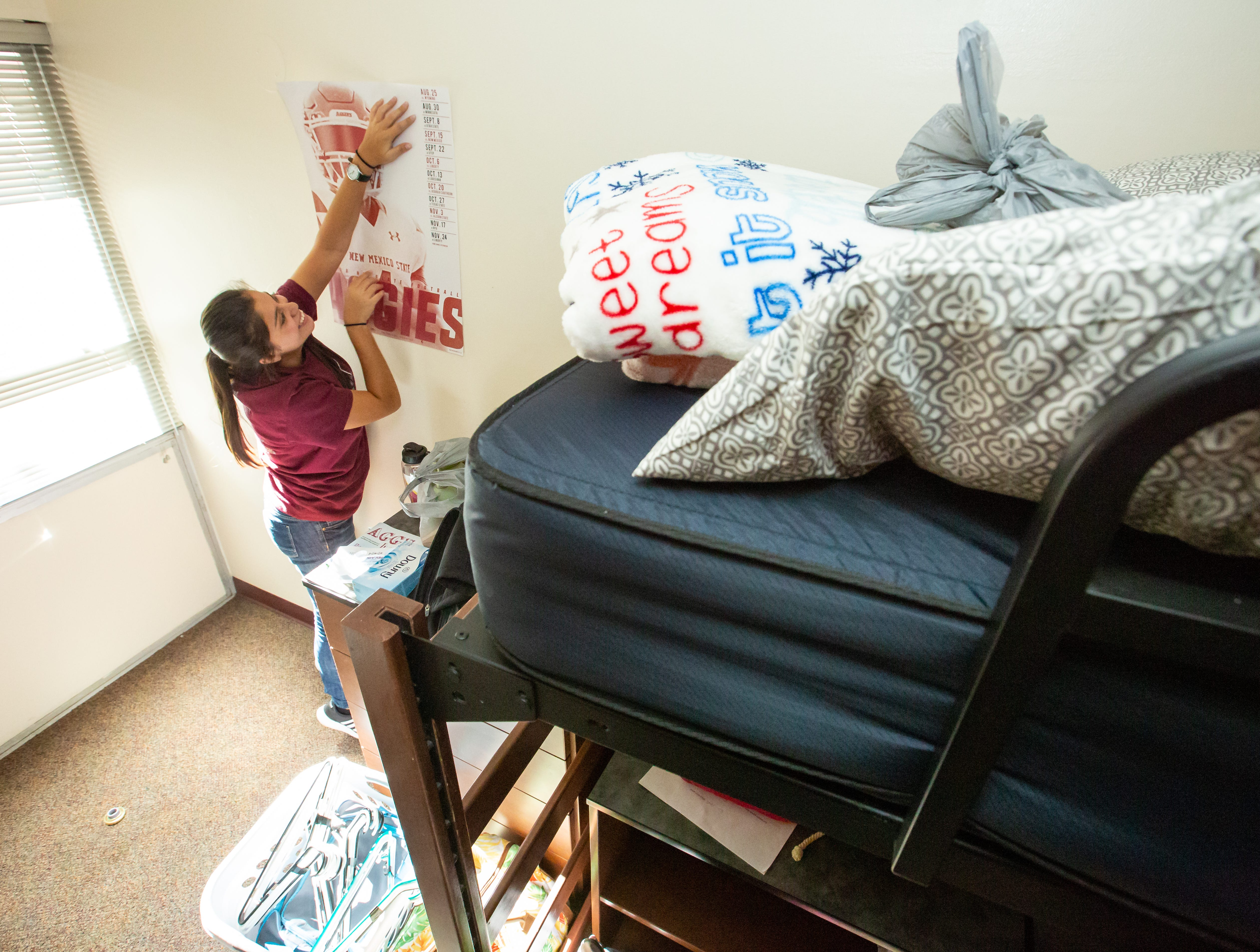 NMSU students move into dorms | Las Cruces Sun