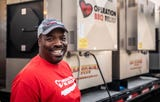 Curtis Barnes, a 50-year-old Teaneck resident and Englewood firefighter, who recently volunteered in Redding, California at the site of the wildfires as part of Operation BBQ Relief, talks about his experience.