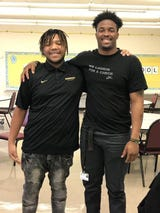 Vanderbilt linebacker Charles Wright started a backpack drive after mentoring 16-year-old DeVonta Kirkendoll, who didn't have school supplies.