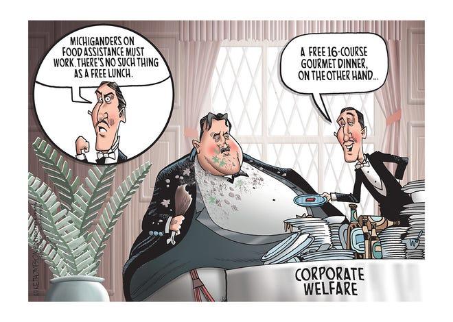 Corporate welfare in Michigan.