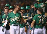 SportsPulse: USA TODAY Sports' Bob Nightengale discusses the surging A's and underachieving Nationals.