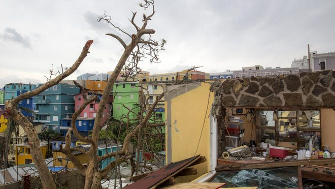 A new report found that Hurricane Maria killed nearly 3,000 people in Puerto Rico in the desperate, sweltering months after the storm – almost double the previous government estimate – with the elderly and impoverished most affected. The new estimate of 2,975 dead in the six months after Maria devastated the island in September 2017 and knocked out the entire electrical grid was made by researchers with the Milken Institute School of Public Health at George Washington University and released Tuesday. The finding is almost twice the government's previous estimate, included in a recent report to Congress, that there were 1,427 more deaths in the three months after the storm than the average for the same period over the previous four years.