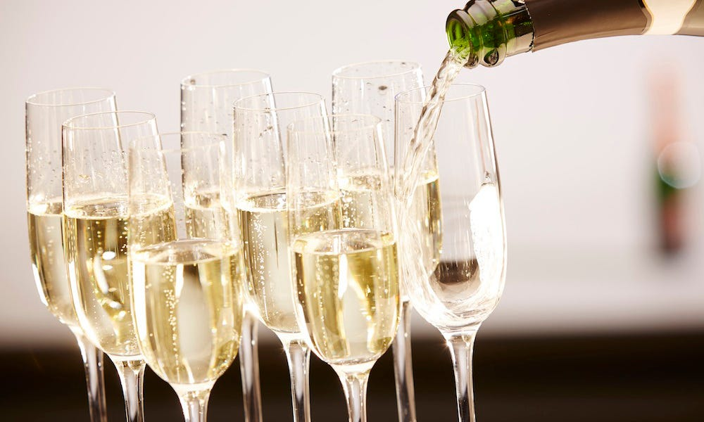 Planning on popping champagne? Better know these 4 hacks