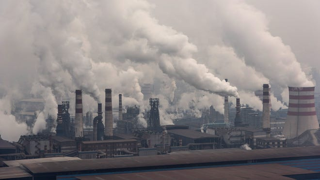 A number of studies have shown that air pollution causes deaths in large Chinese cities.  A recent report from the World Health Organization said that about 600,000 children died worldwide in 2016 because of breathing polluted air.