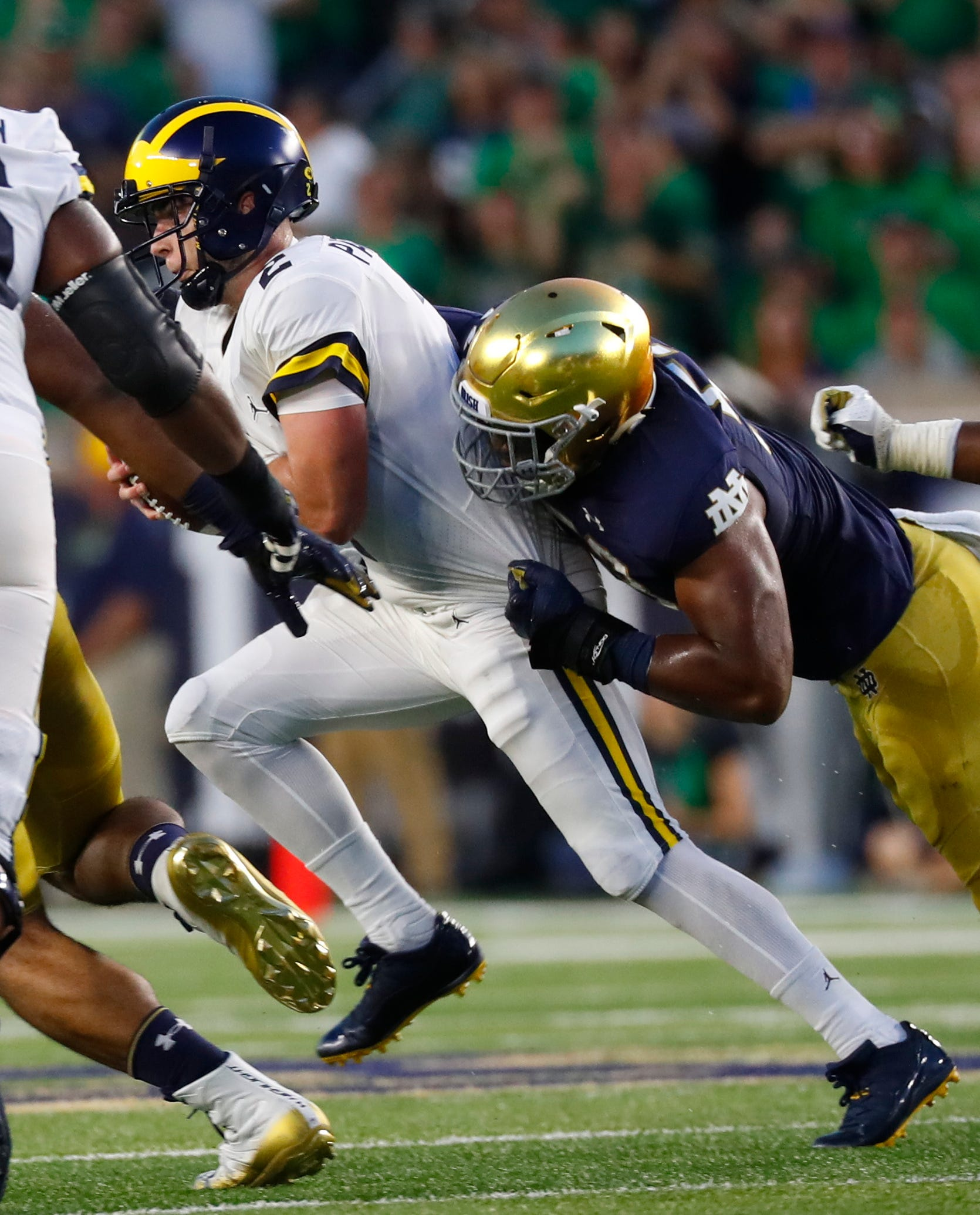 the best attitude 9282b c85ac 8 Notre Dame Notre Dame junior DE Khalid Kareem making most of his  opportunity 7 months ago Ø Usatoday Ø USA (GANNETT Syndication Service  152) ...