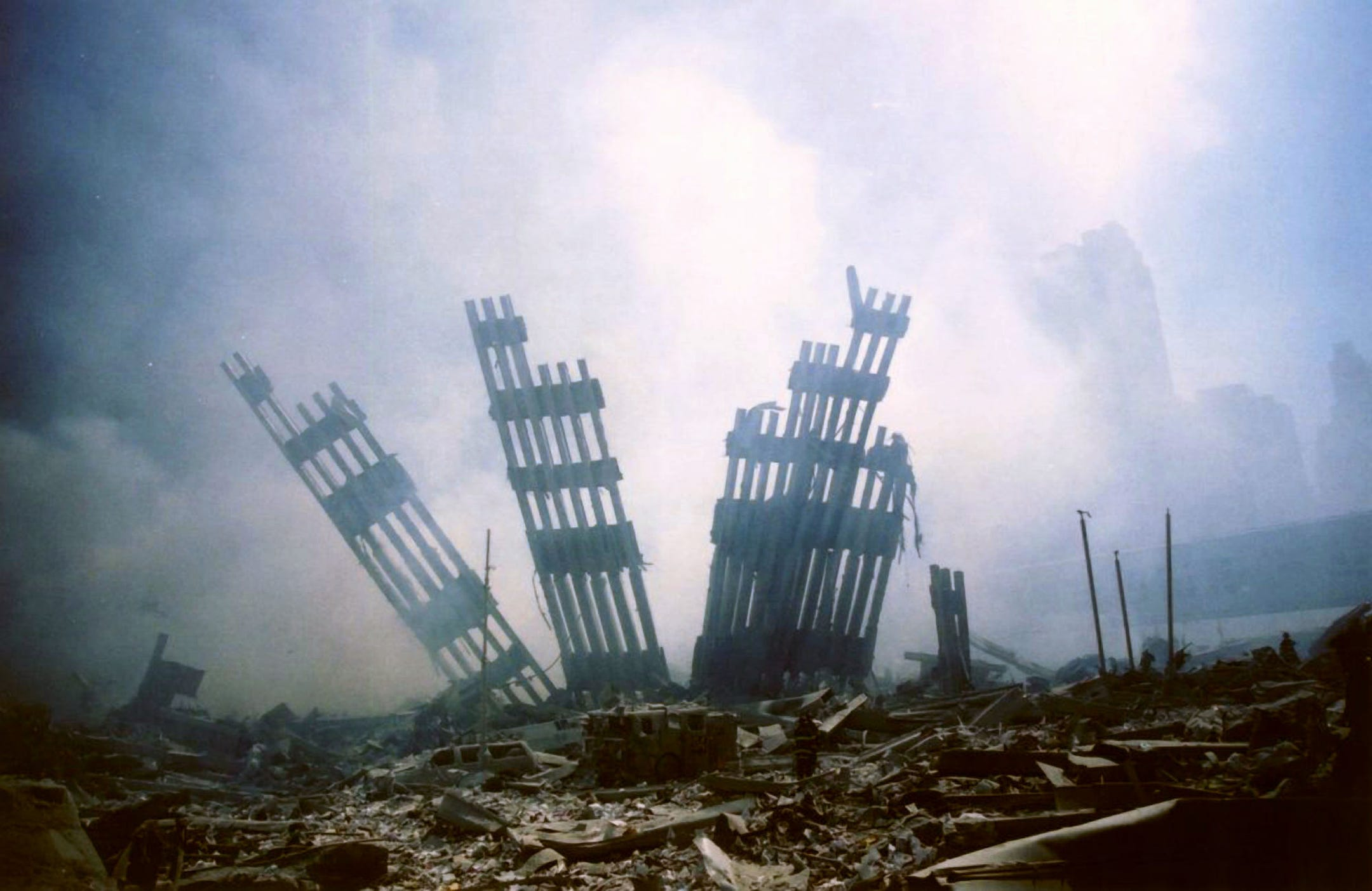 9/11: Iconic photos from the day of terror
