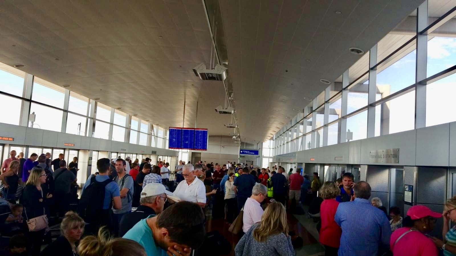 Man fined $52 for causing shutdown at Phoenix airport terminal   USA Today