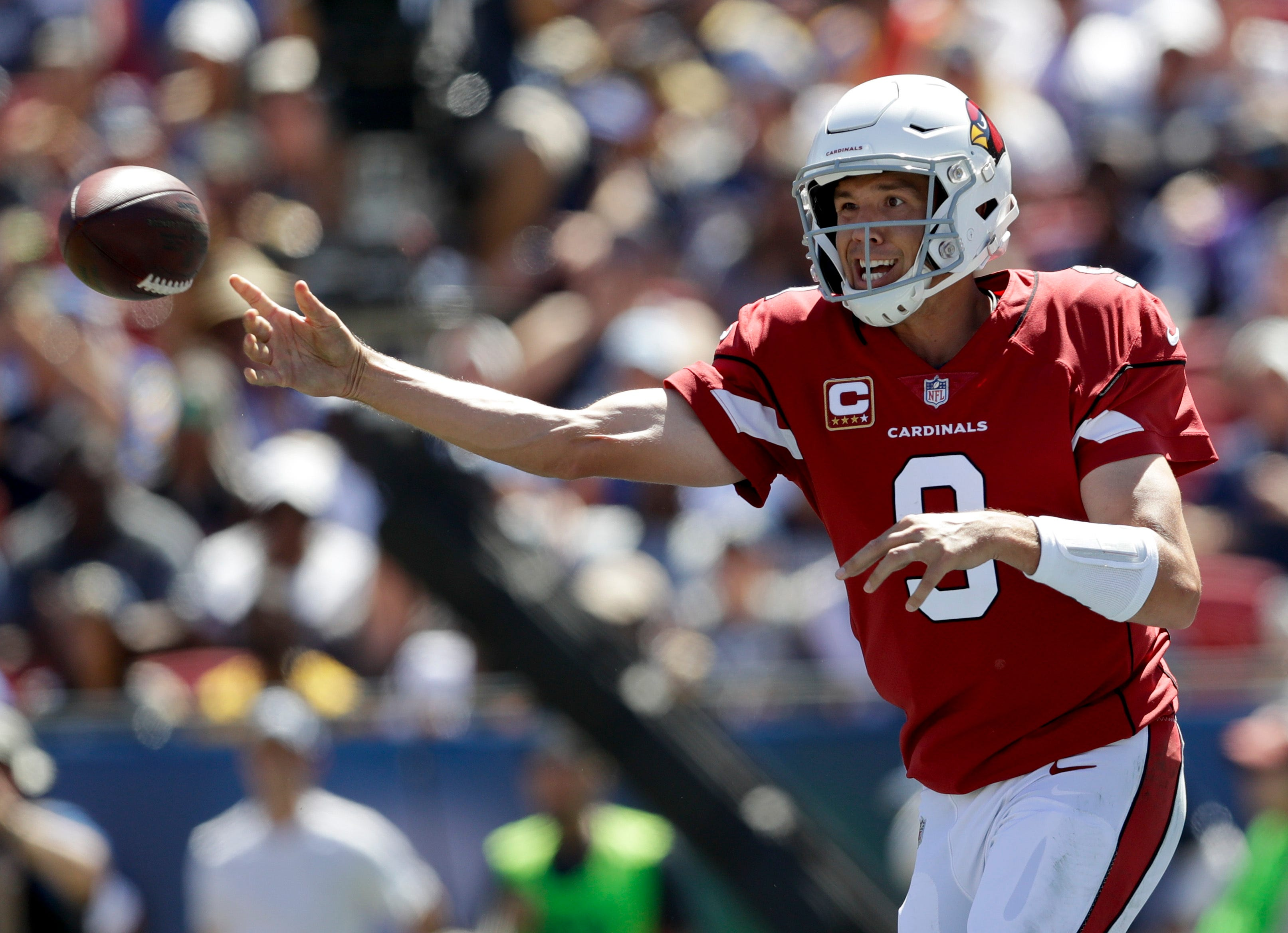 Gurley, Goff lead Rams to 34-0 victory over Cardinals