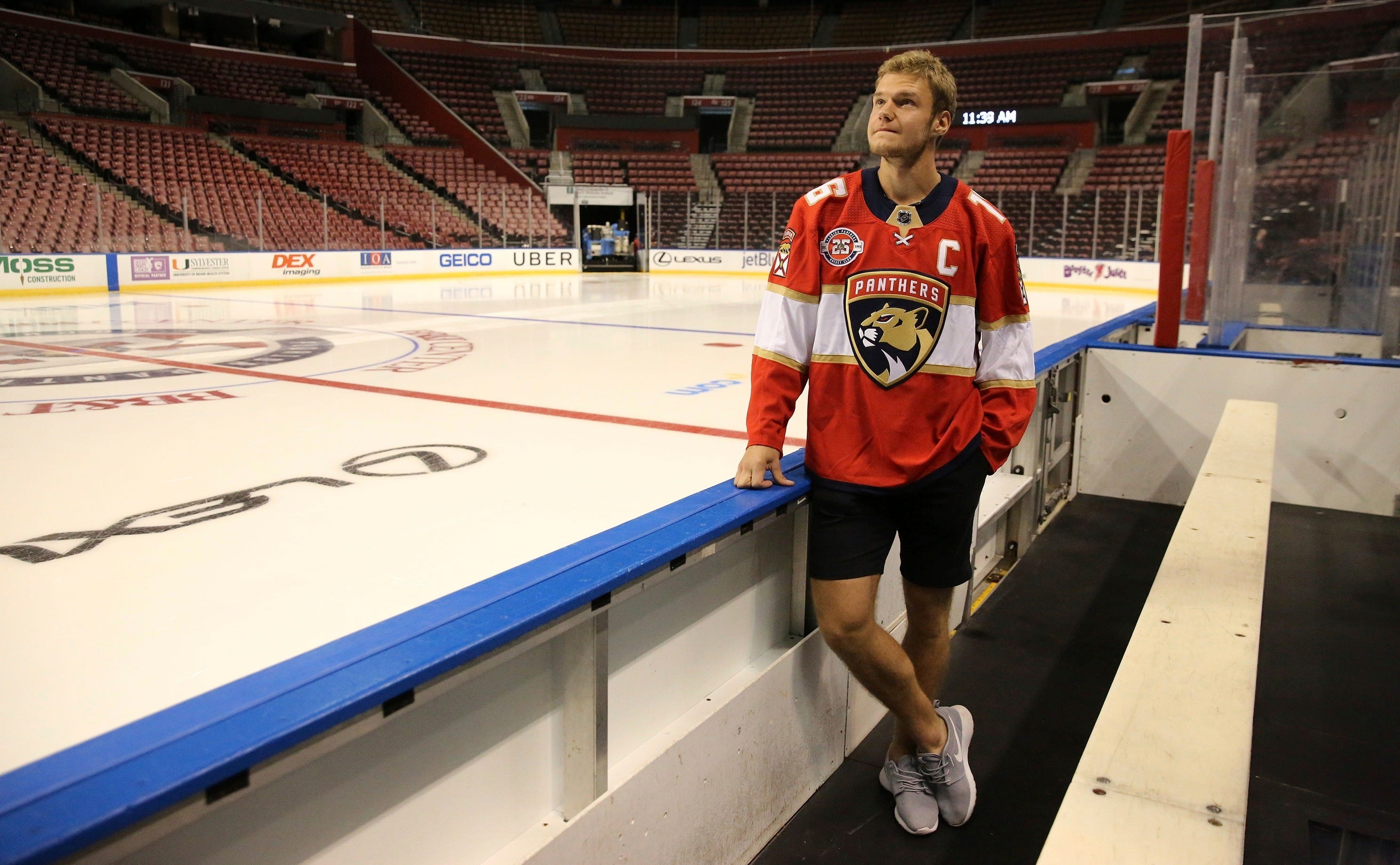 Barkov takes over as captain of Florida Panthers