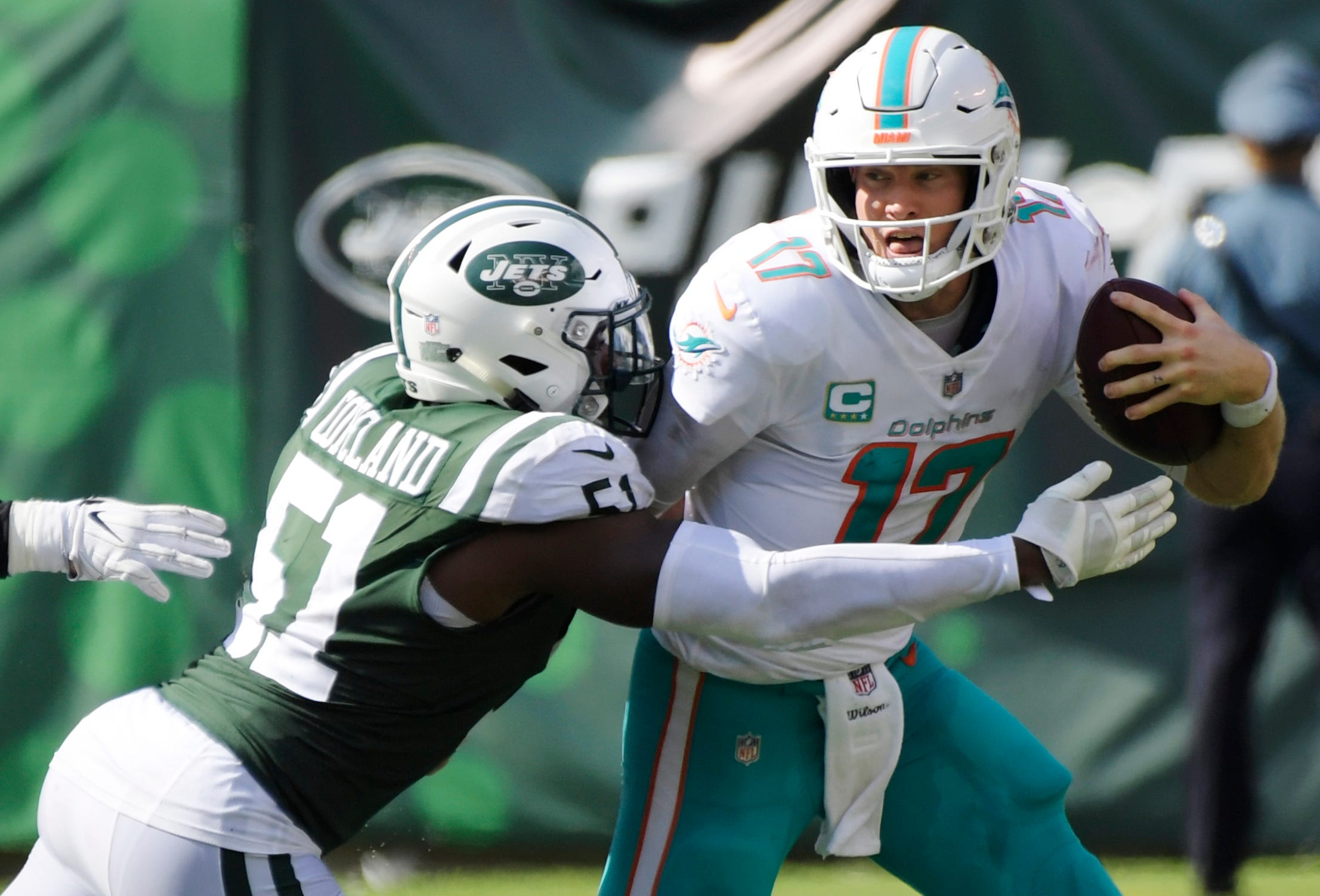 Dolphins are 2-0, and Gase isn't fazed whatsoever