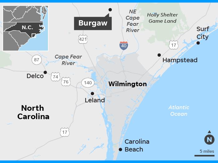 Florence 35 Dead Floods Cut Off Wilmington North Carolina Food