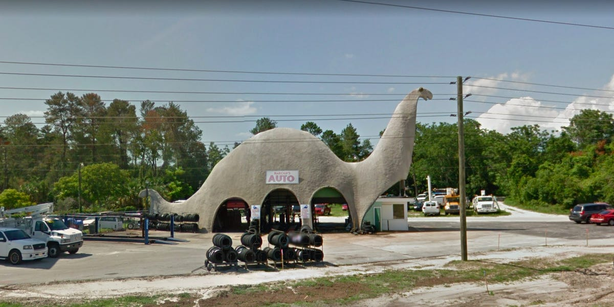 Unusual gas stations across the USA